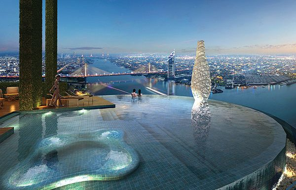 Canapaya-Residences-Bangkok-condo-for-sale-sky-swimming-pool